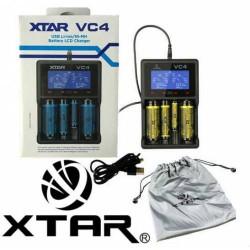 Xtar VC4 USB Li-ion/Ni-MH Battery Charger