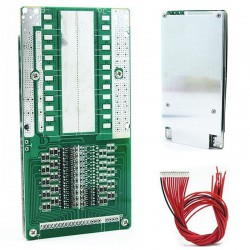 14S 45A 51.8V Lithium Battery Power Protection Board With Balance BMS/PCB/PCM