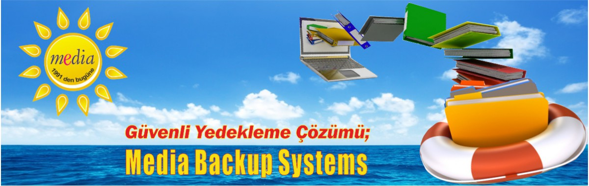 Media Otomatik Backup Sistemi ile Dosyalar Güvende